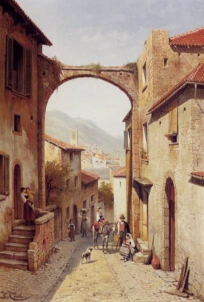 Rue A Narni Italy
